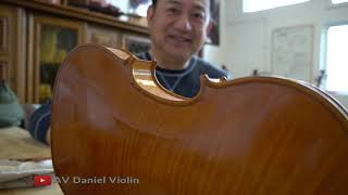 How to Do Final Polish on Violins(Romania Workshop)