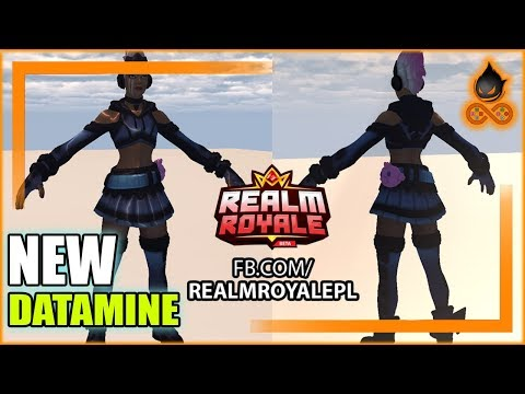 NEW Realm Royale Datamine from patch 14 Steel and Shadow