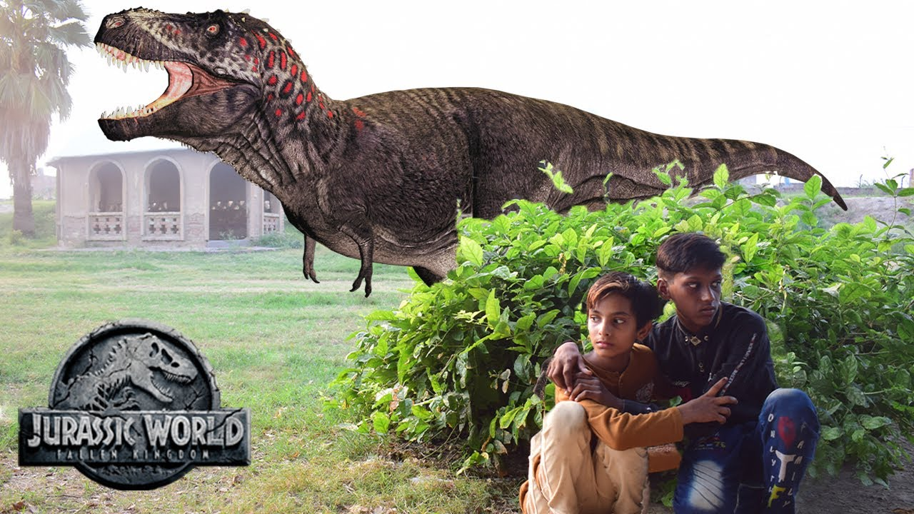 T-Rex Chase - Part 1 - Jurassic World Fan Movie   Dinosaur in real life