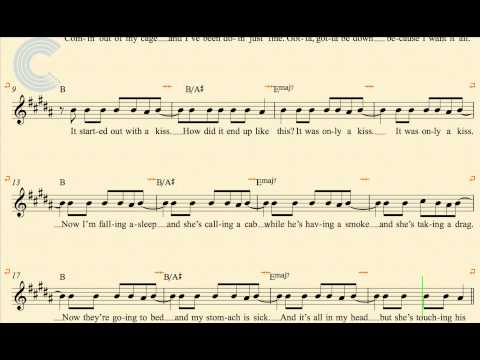 Alto Sax - Mr. Brightside - The Killers - Sheet Music, Chords, & Vocals
