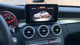 Mercedes Benz C Class Infotainment System Review