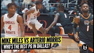 Mike Miles VS Arterio Morris!  Winner Goes To State!