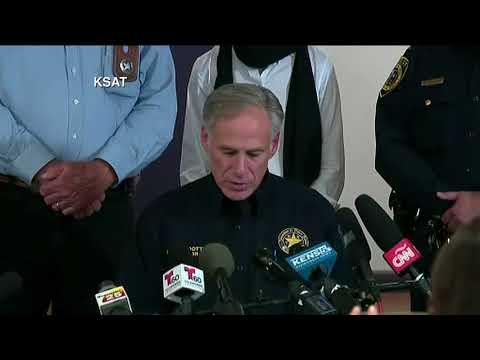 Texas church mass shooting press conference (Q&A)