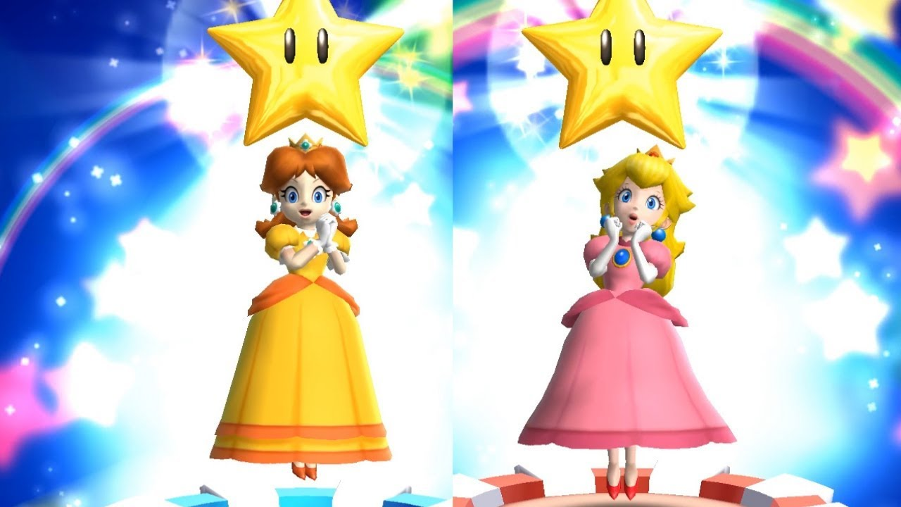 Mario Party 9 Daisy Vs Peach Bowser Station Youtube