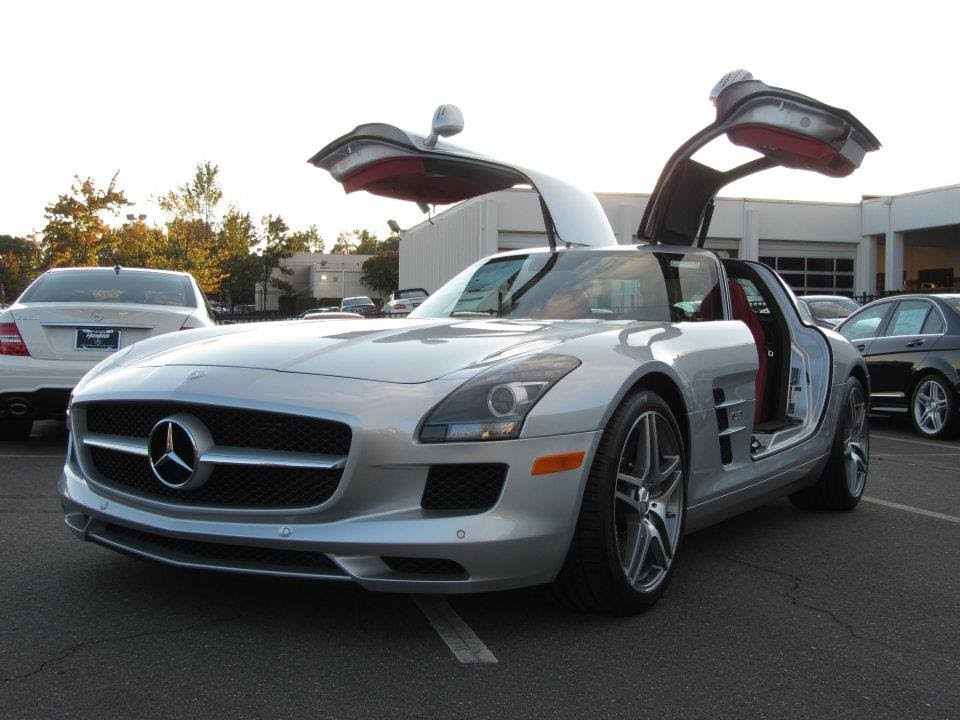 Awesome 2012 Mercedes Benz SLS AMG Start Up, Exhaust, And In Depth Tour   YouTube