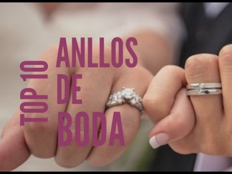 En honor Incidente, evento dilema  TOP 10 Anillos de Boda 2017/2018 - YouTube
