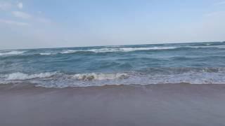 Море в Витязево шторм 23.07.2016 8.00 утра