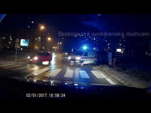 Sanitka vs. bratislavské cesty