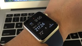 Gold Apple Watch Midnight Blue Sports Edition Unboxing