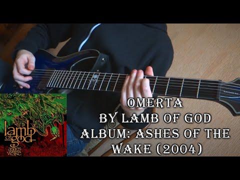 Lamb of God - Omerta (Guitar Cover by Godspeedy)