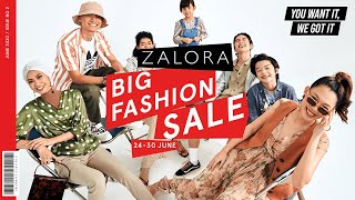 Keep your eyes on the prize for our annual zalora big fashion sale! with deals up to 80% off, this year's edition is bigger and better than before. stay tune...