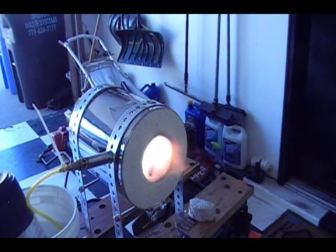 How to build a trashcan forge