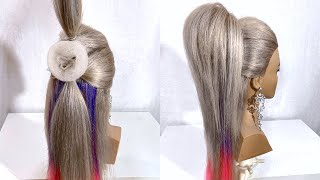 Summer Hairstyle. A Ponytail.  Womens Hairstyles for Long Hair