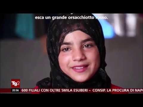 (05-07-17) - Bambina di Mosul: io ho una borsa magica