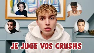 JE JUGE VOS CRUSH ! (gay vibes)