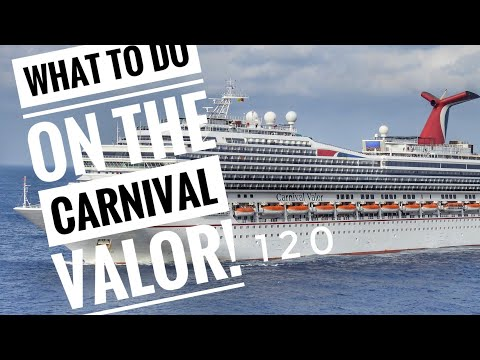 Carnival Valor Cruise Activities & Shows!!