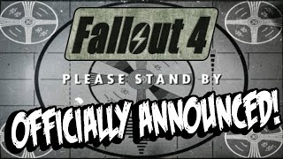 FALLOUT 4: OFFICIAL TEASER! Gameplay Trailer Coming Soon!?