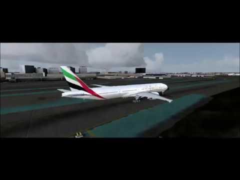 P3D V4.1 | 15 Hour Ultra Long Haul Timelapse | Los Angeles to Dubai | Emirates PMDG 777-300ER