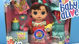Baby Alive Once Upon a Baby Forest Luna Doll Unboxing