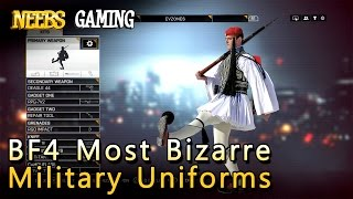 BF4 Most Bizarre Military Uniforms