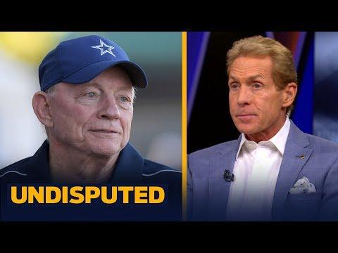 Skip Bayless reacts to Jerry Jones' comments about Ezekiel Elliott's holdout | NFL | UNDISPUTED