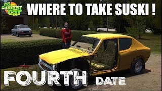 My Summer Car - Where to take Suski ! (FOURTH DATE)