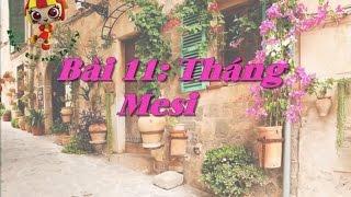 Học tiếng Ý - Bài 11: Tháng - Hoc tieng Y ✫✫✫✫✫