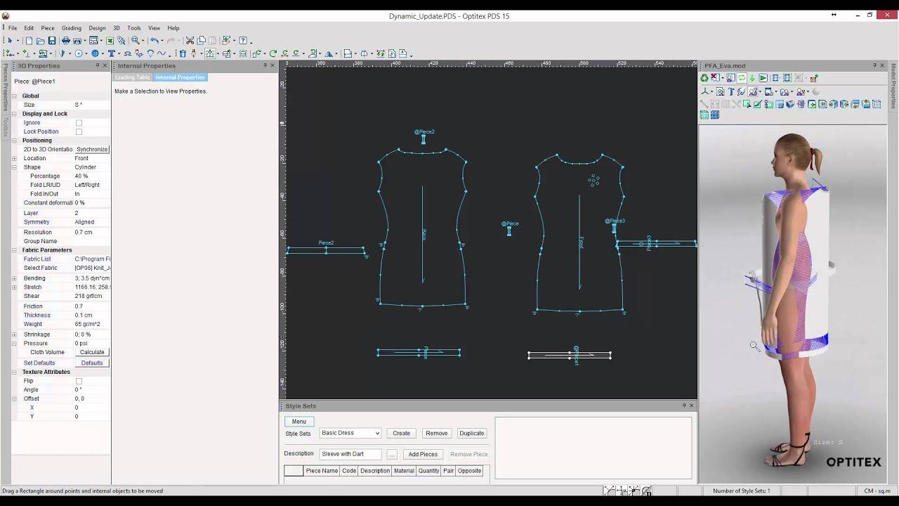 Dynamic 2D to 3D Pattern Updates