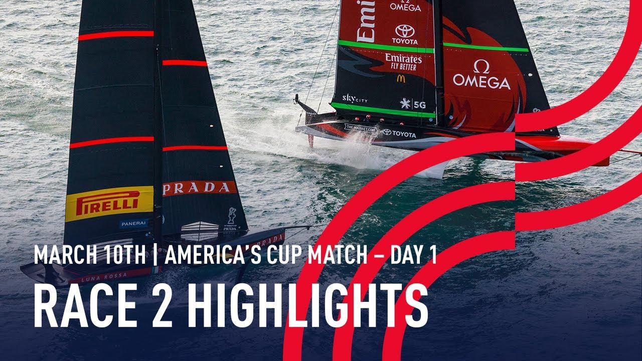 AC36 America's Cup Race 2 Highlights