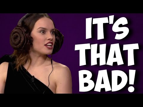 Even the cast of The Rise of Skywalker is disgusted with Star Wars Episode 9!