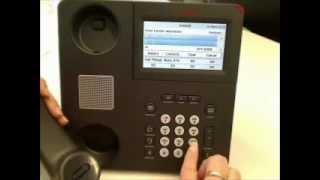 AVAYA 9641G Transfer Call