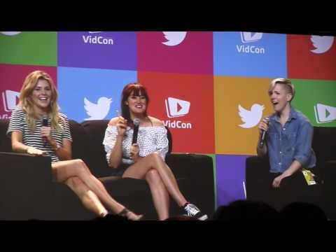 The Holy Trinity Full Q&A VIDCON 2017 Hannah Hart Grace Helbig Mamrie Hart