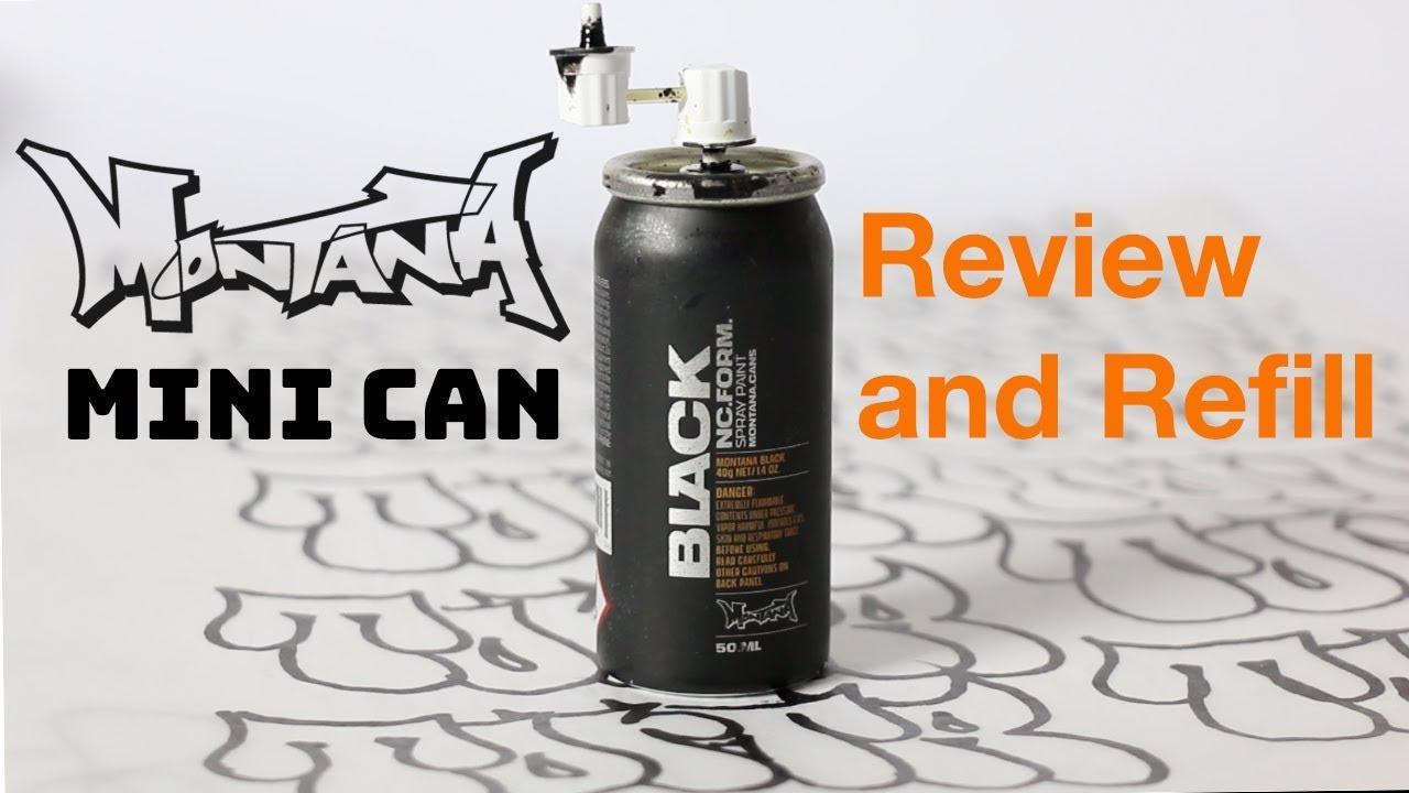 Montana Black 50ml Mini Can Review