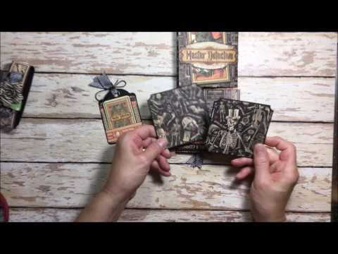 Get a Clue Photo Wallet Tutorial Video Master Detective by Kathy Clement Product by Graphic 45