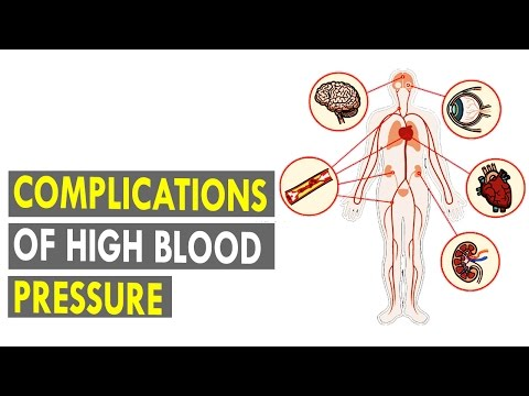 Complications of High Blood Pressure (English) || Health Xpress