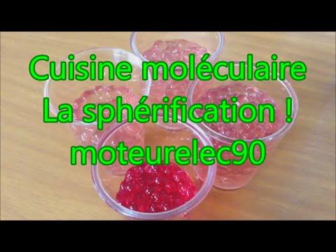 Sph rification recette de cuisine mol culaire expliqu e for Spherification cuisine moleculaire