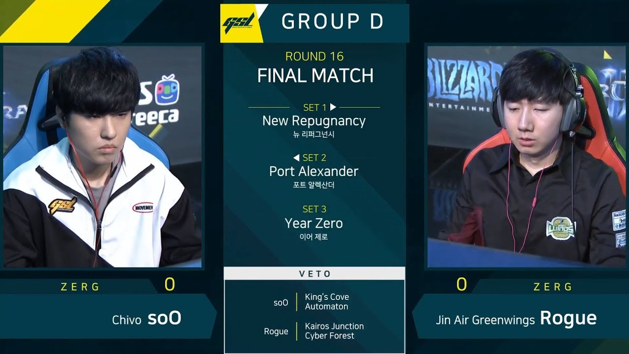 Tw Starcraft2 Soo Vs Rogue Zvz 2019 Gsl S1 Codes Ro 16 Groupd Match5