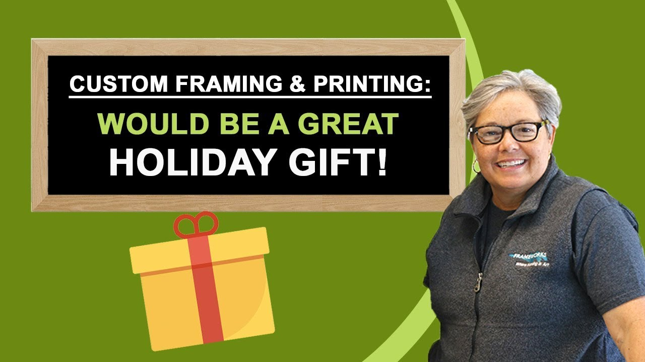 Custom Framing and Printing in Miami - A Great Holiday Gift - YouTube