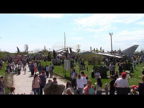 Парковый комплекс имени Сахарова г Тольятти 9 мая 2018 г