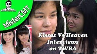 Vlog #37 Kisses Vs Heaven on TV Interviews (REACTION)