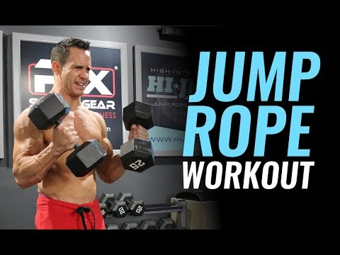 Jump Rope Workout Burn 600 Calories Fast