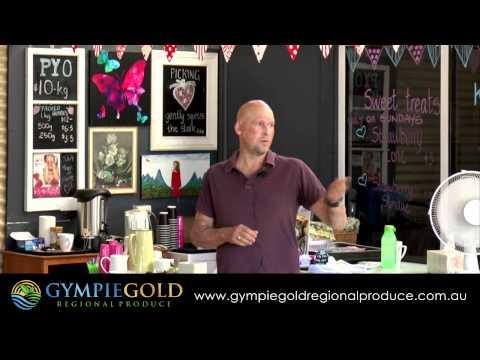 Matt Golinski   Gympie Gold Regional Produce Network Event 2014