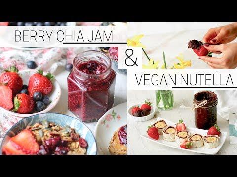 VEGAN NUTELLA & CHIA SEED JAM » easy homemade recipes