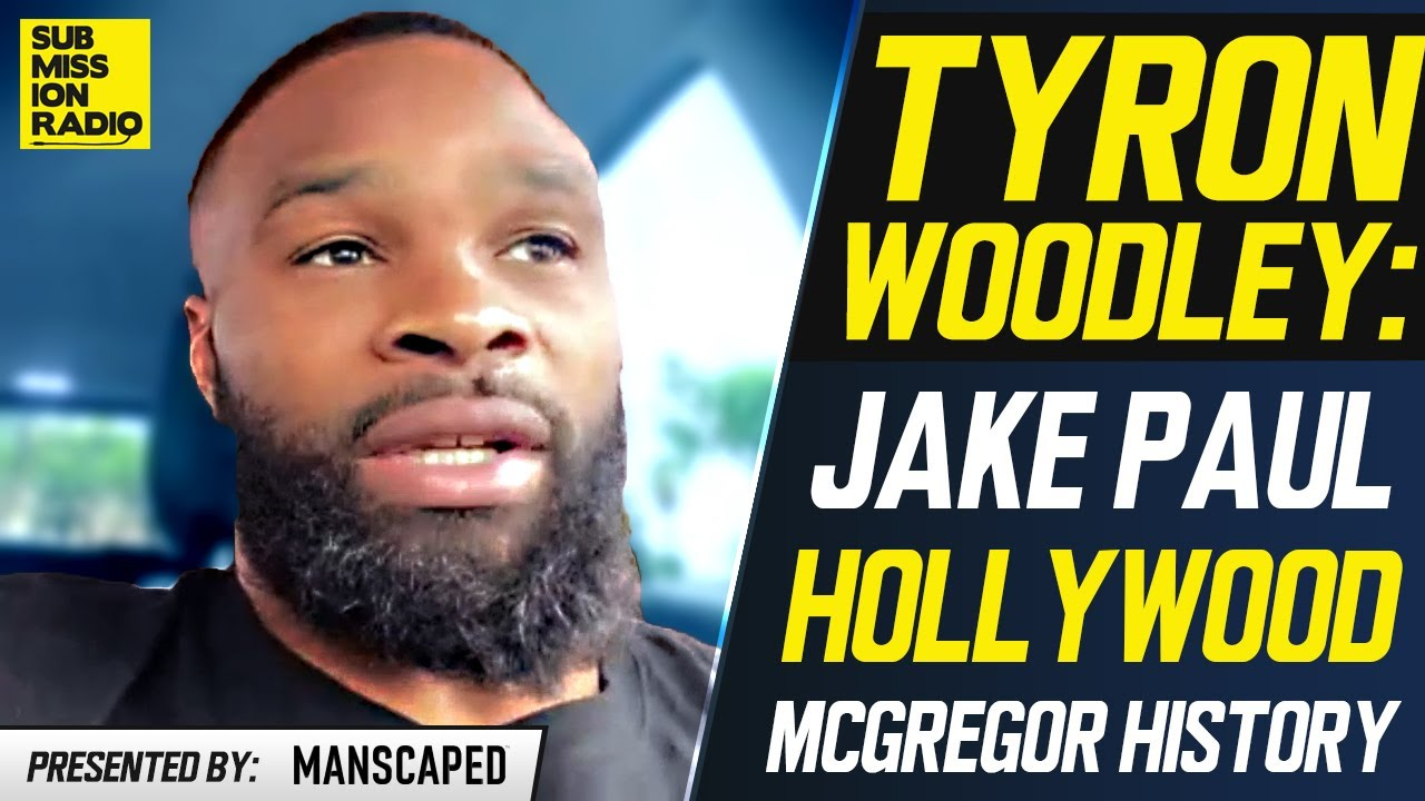 """Tyron Woodley Admits """"Scared"""" Jake Paul Is Still """"Dangerous""""; Ranks Conor McGregor's Greatness"""