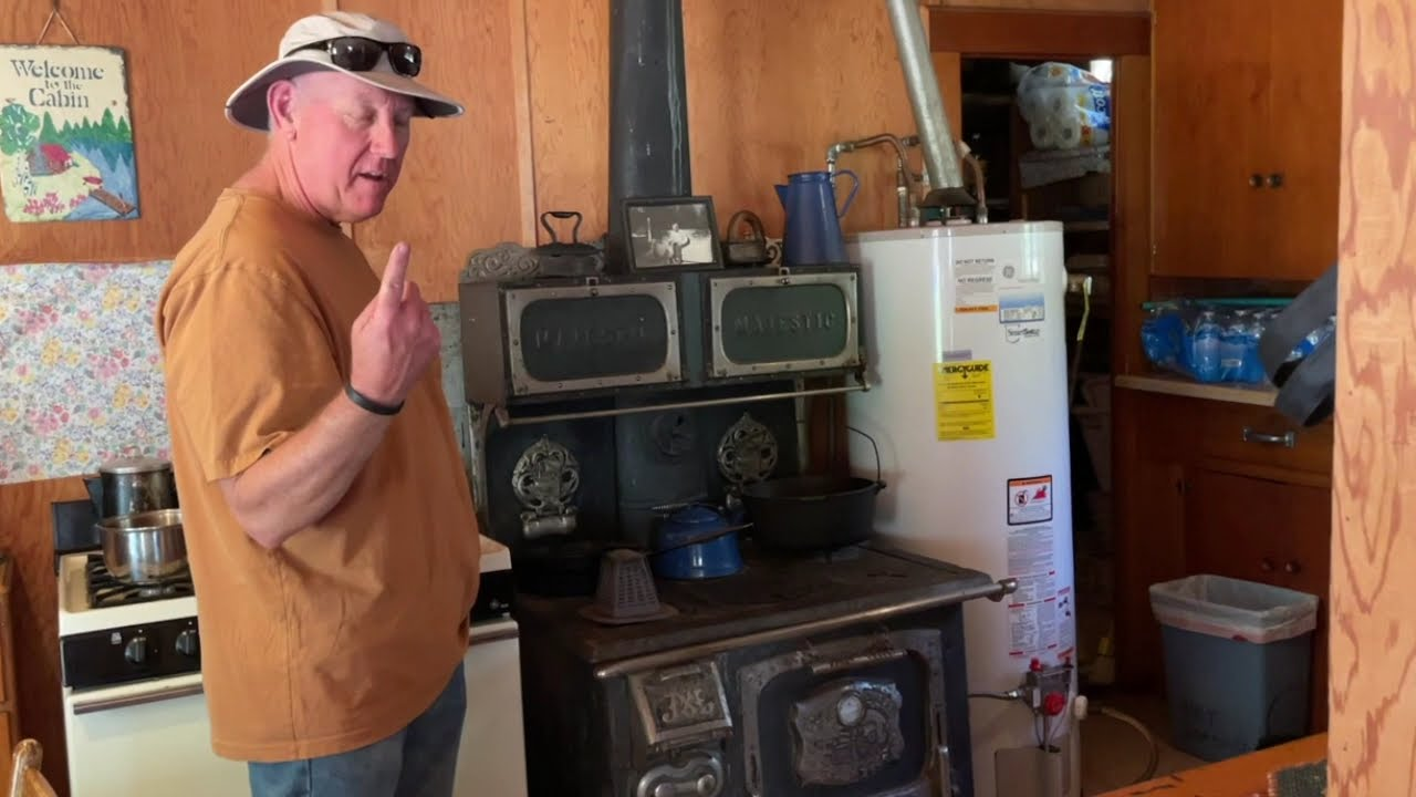 A Historic Mountain Stove and Cousin Ed!