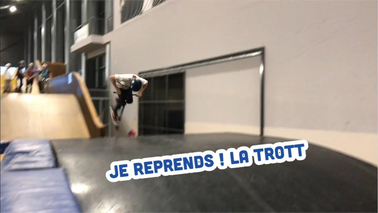 JE REPRENDS LA TROTTINETTE 7 MOIS APRES MA FRACTURE !!!
