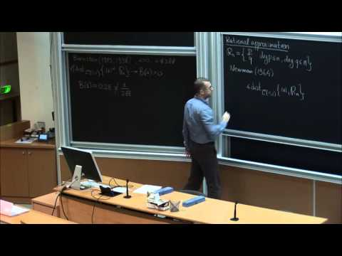 Alexander Pushnitski : Rational approximation of functions with logarithmic singularities