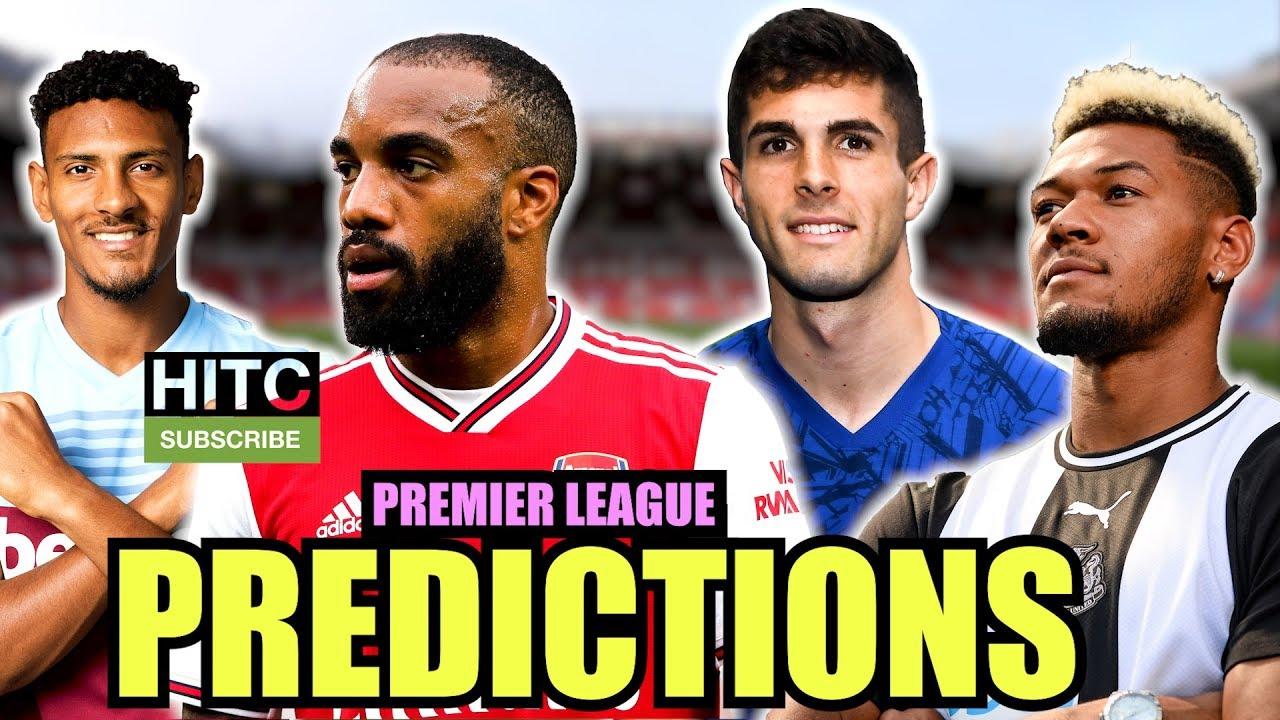 Premier League 19/20 PREDICTIONS
