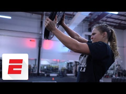 All-access look into Ronda Rousey's 4-hour workout leading up to WrestleMania 34 | ESPN