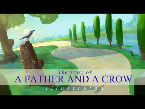 The Story of A Father and A Crow | illustrated | Nouman Ali Khan | Subtitled
